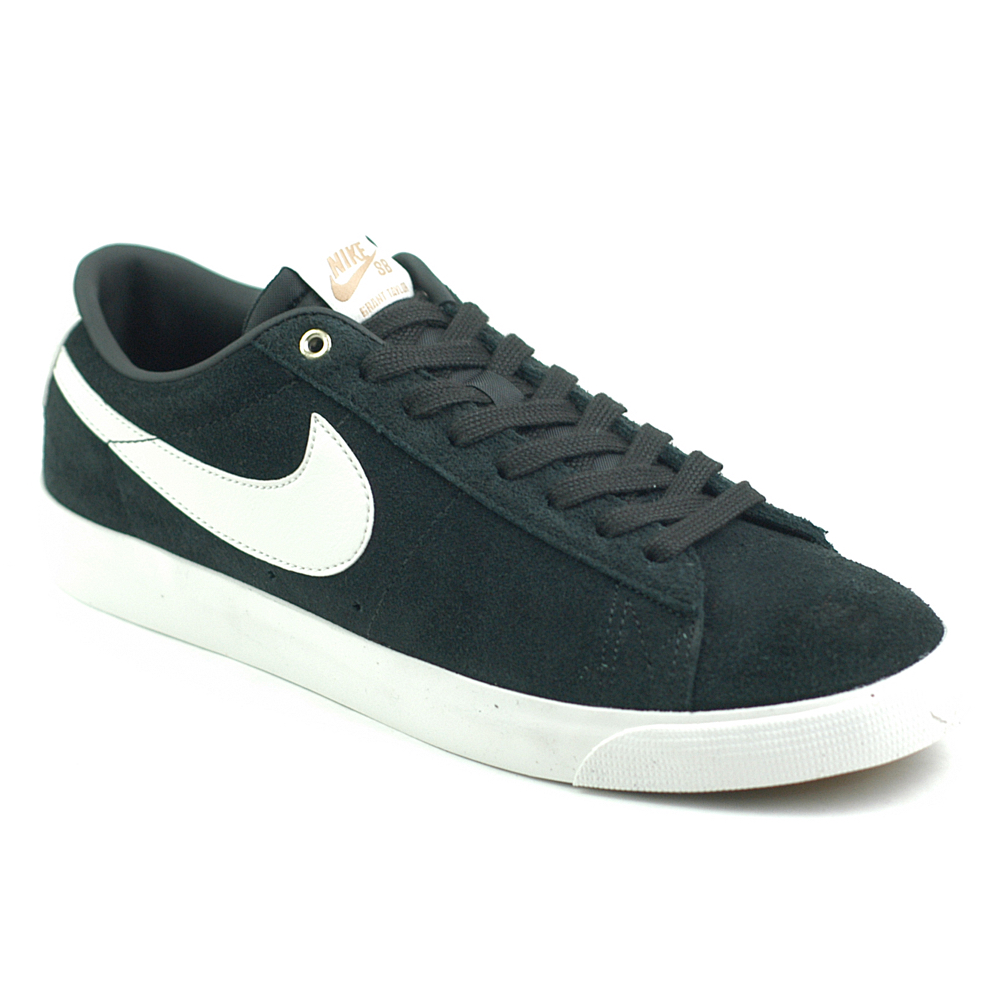 good looking wholesale dealer lace up in Nike SB Blazer Low GT Black-White