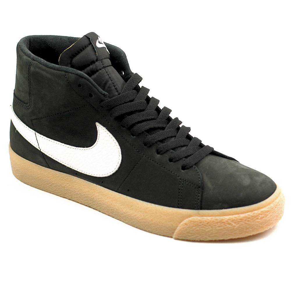 buy online 4c5aa 0dad7 Nike SB Blazer Mid ISO Black-White