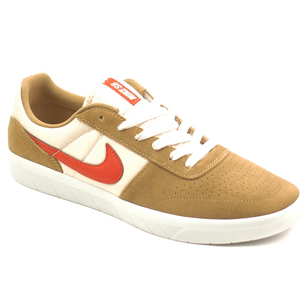 hot sale online b170e d3dec Nike Skateboard Team Classic Golden Beige Suede · Nike SB Team Classic  Golden Beige Red