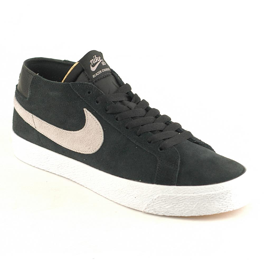 reputable site 789a4 0f9ed Nike SB Zoom Blazer Chukka Black-Atmos Grey