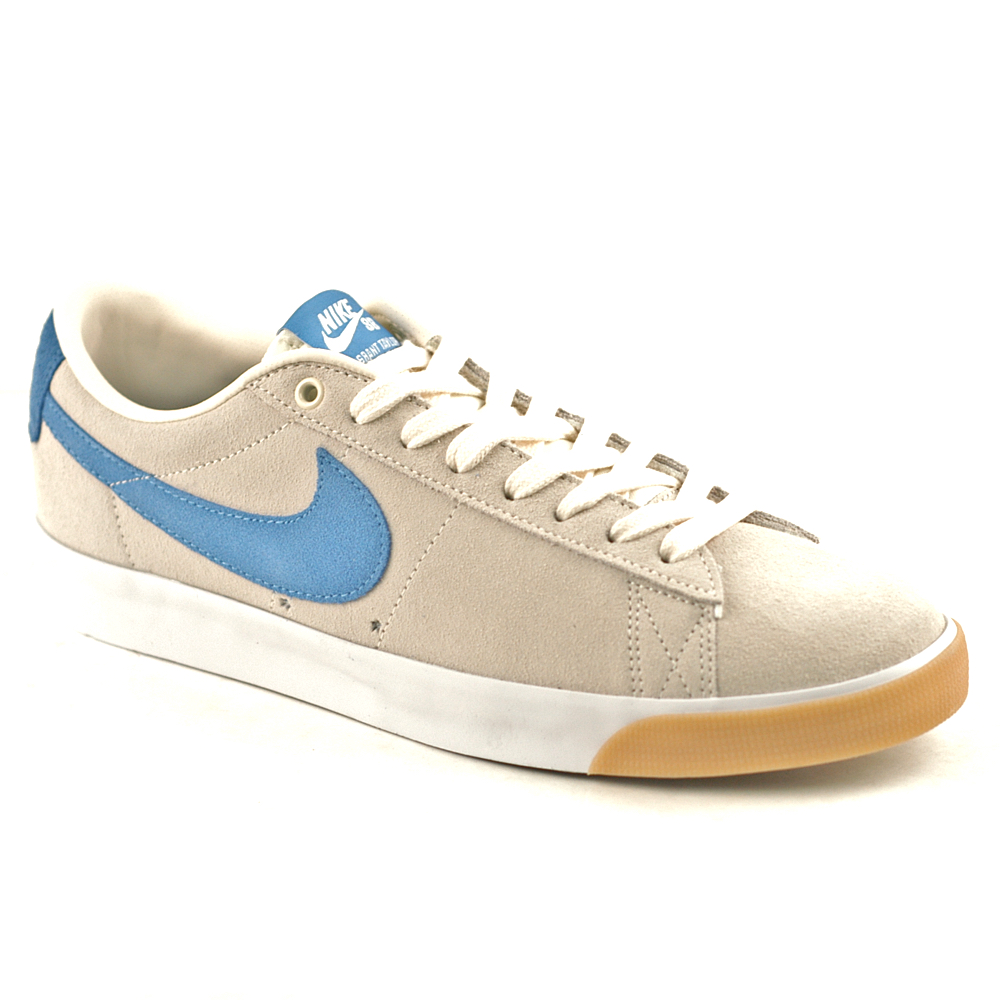 Vagabundo pastor armario  Nike SB Blazer Low GT Pale Ivory-Pacific Blue - Forty Two Skateboard Shop
