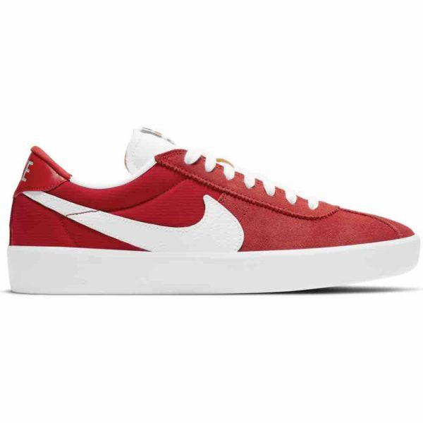 Nike SB UK Bruin React Uni Red White Suede