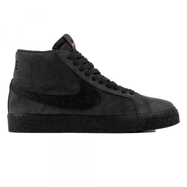 Nike SB Orange Label ISO Blazer Mid in Dark Smoke Free UK Shipping