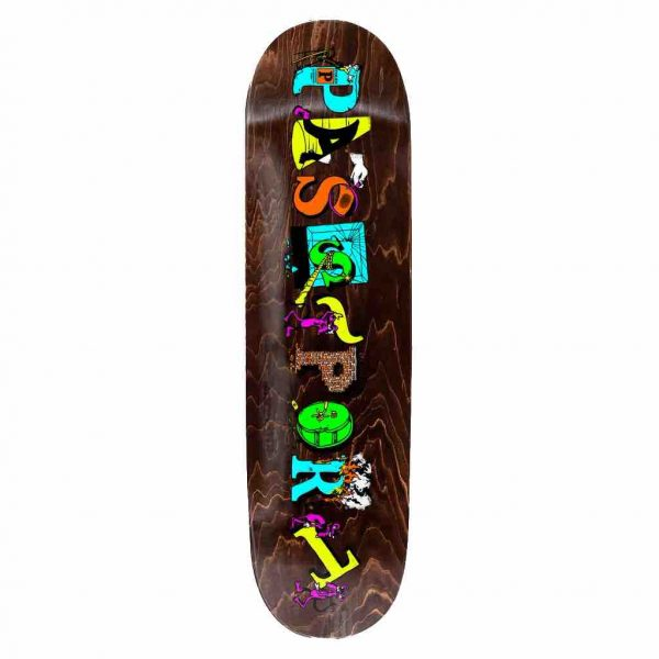 Image of the new Passport skateboards loot deck in 8.00