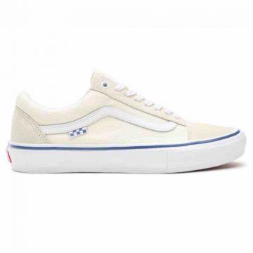 Vans skate old skull skate shoe in off white new for 2021 UK