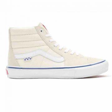 Vans skate sk8 hi off white skate shoe new for 2021